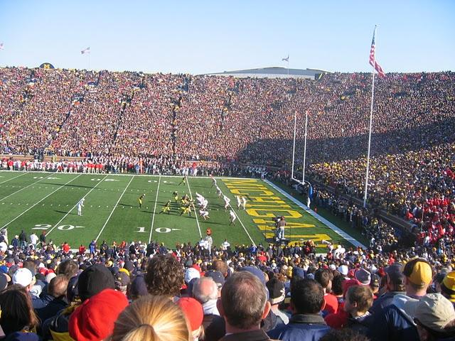 University of Michigan football game
