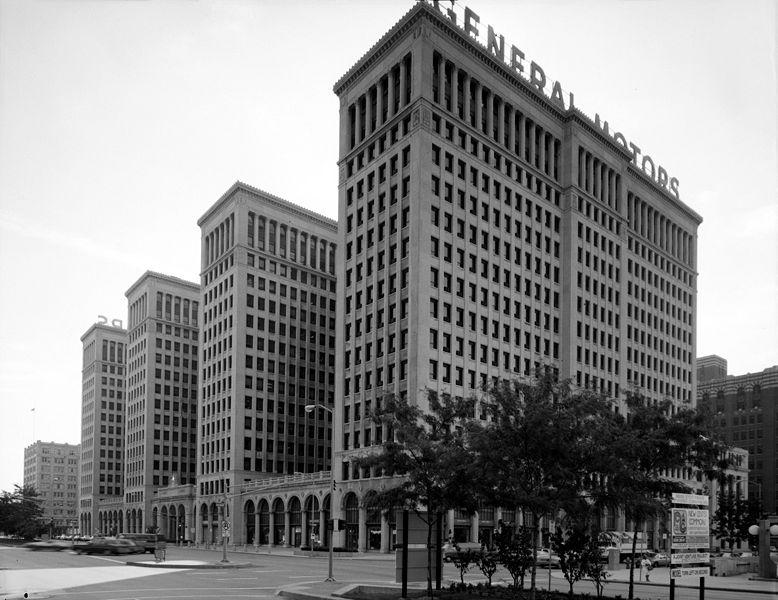 Old General Motors Headquaters