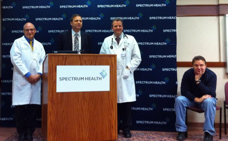 Spectrum celebrates first heart transplant