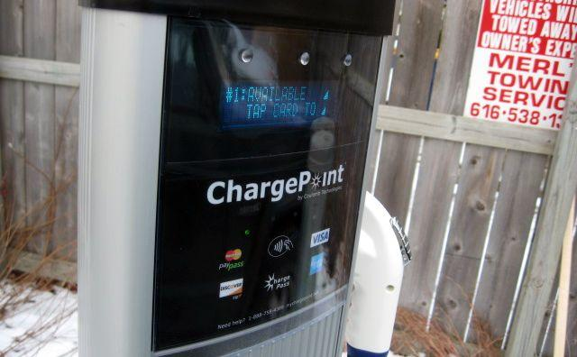 Charge Point charging stations