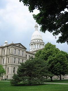 Capitol Building in Lansing, MI