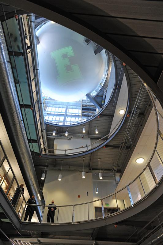 Interior of EMU Science Complex