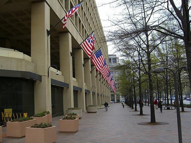 The J. Edgar Hoover Building. FBI Headquarters in Washington D.C.