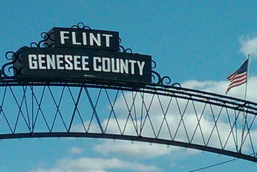 sign that says flint