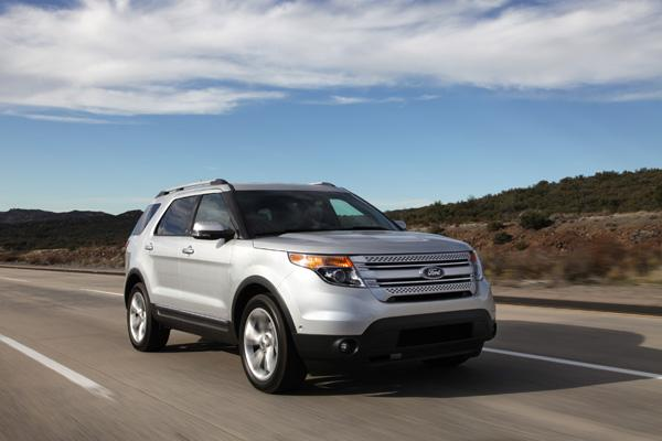 "The 2011 Ford Explorer wins ""Truck of the Year"""