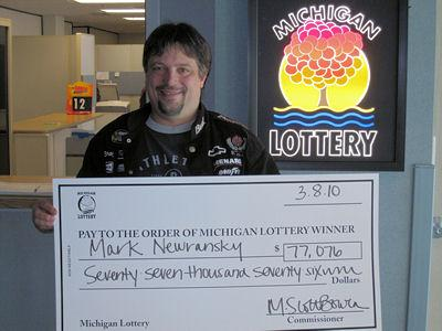 Mark Newransky, Michigan Lottery winner