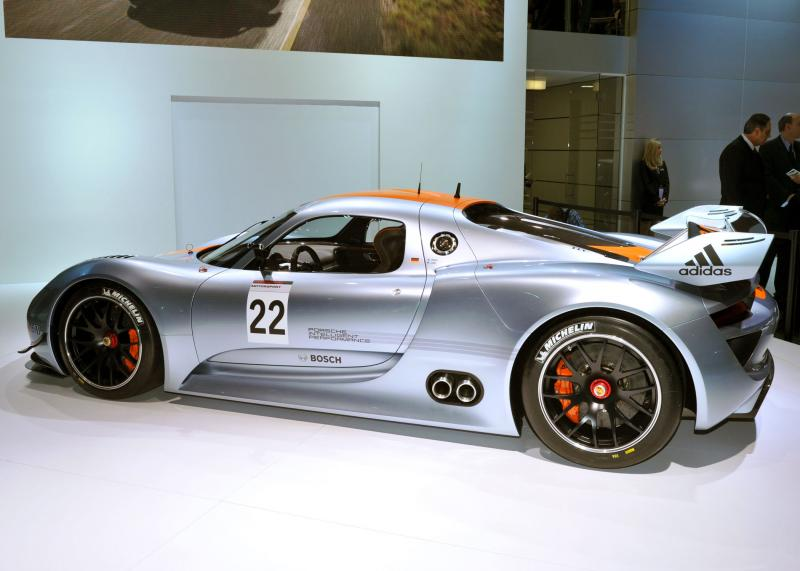 "The Porsche 918 RSR concept, named ""Best in Show"" by the editors of AutoWeek."