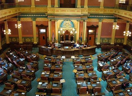 Inside the Capitol Building, Lansing, MI