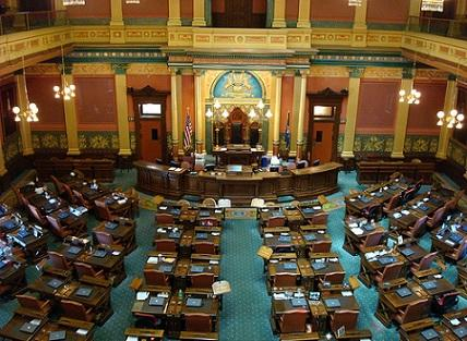 Michigan's 96th Legislative session got underway yesterday