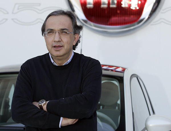 CEO Sergio Marchionne says Chrysler is back.