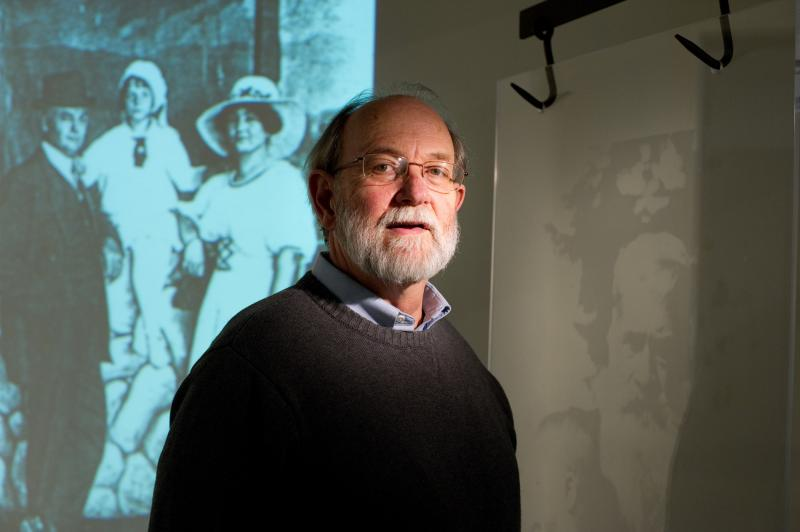 "MSU professor James Lawton created ""Evolutionary Artifacts,"" a multimedia exhibition that focuses on human equality and social justice."