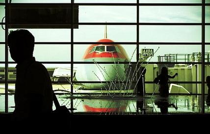 Inside the Detroit Metropolitan Airport