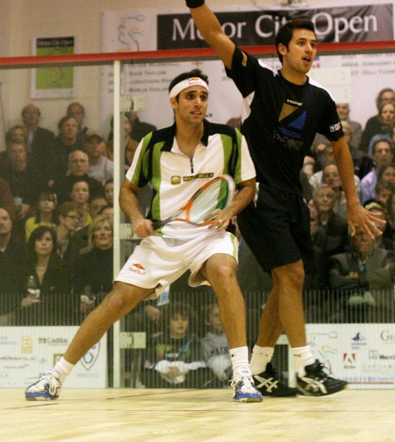 Egypt's Karim Darwish & Malaysia's Mohd Azlan Iskandar
