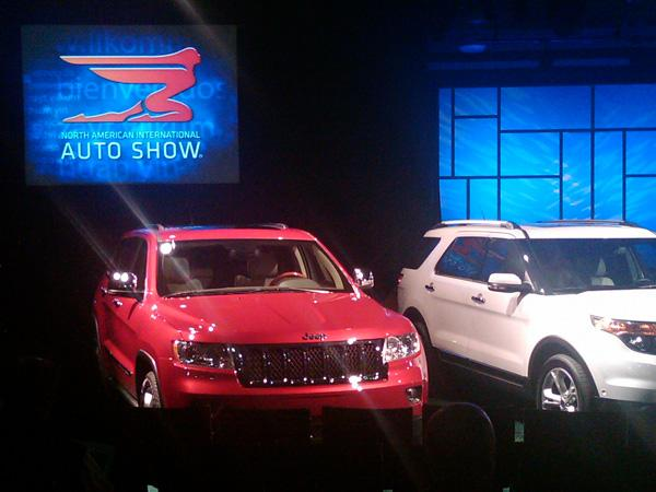 "The Jeep Grand Cherokee was up for ""Truck of the Year"""
