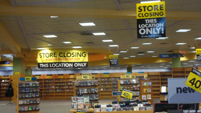 Borders to close at least 17 stores nationwide this quarter