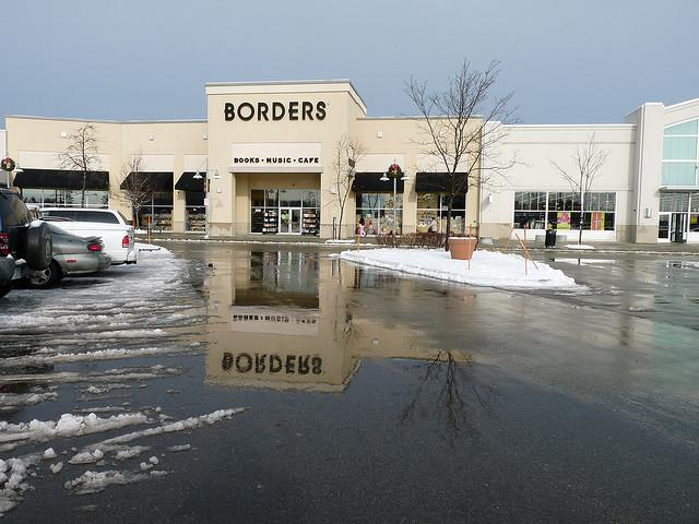 Borders has been on the brink. The company has been trying to secure financing to stave off bankruptcy.