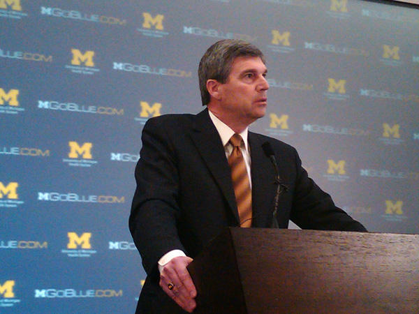 Michigan Athletic Director Dave Brandon
