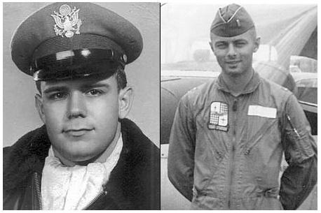 Air Force Col. James E. Dennany (left) & Maj. Robert L. Tucci (right).