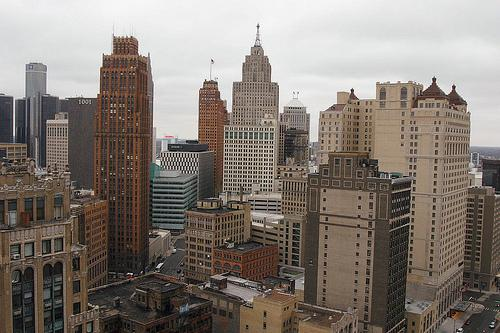 Detroit topped the list of bottom-ranking metro areas.