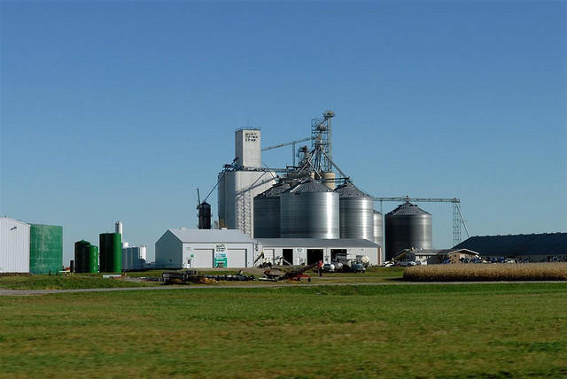 An ethanol plant in Iowa. The EPA is allowing more ethanol to be mixed into gas.