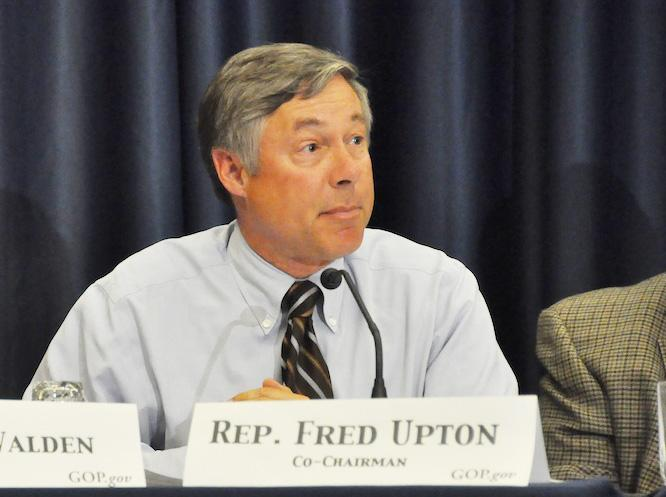 Fred Upton represents Michigan's 6th Congressional District
