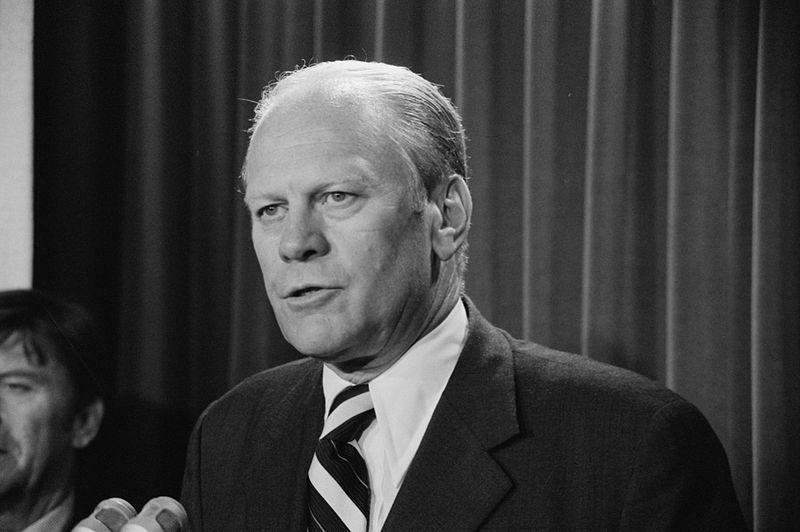 The first federal tax credit for the working poor was signed into law by President Gerald Ford in 1975.
