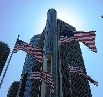 GM Renaissance Center in Detroit