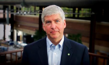 A new poll shows 59 percent of Michigan voters have a favorable opinion of Republican Governor Rick Snyder