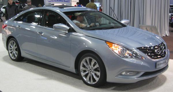 The Hyundai Sonata another car nominated for the award. The car has been praised for its fuel economy and styling.