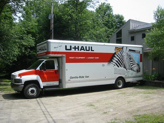The preferred moving truck for young people.