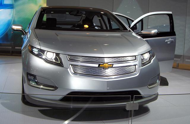 The Chevy Volt - the Car of the Year for 2011.