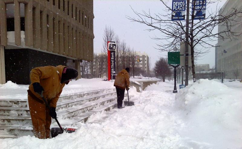 A near record 16 inches was recorded in a 24-hour period in the city.