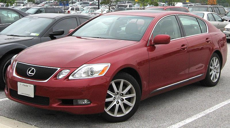 The 2006 Lexus GS 300 is part of the latest Toyota recall