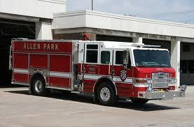 All 25 members of the Allen Park fire department have been told to expect pink slips.