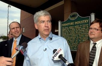 Governor Rick Snyder travels to Kalamazoo today