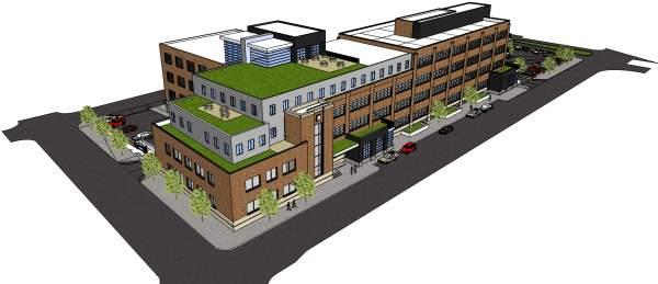 Rendering of the East Jefferson Neighborhood Project