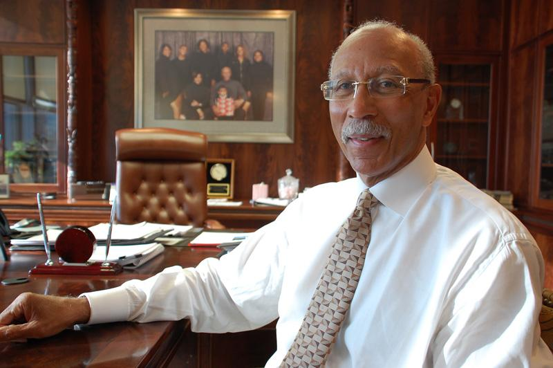"Detroit Mayor Dave Bing - ""the Detroit he inherited was, in his words, nearly bankrupt — financially, ethically and operationally."""