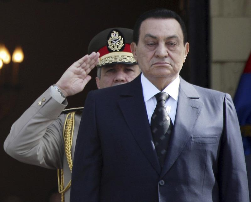 Egyptian President Hosni Mubarak might be at the end of his reign.