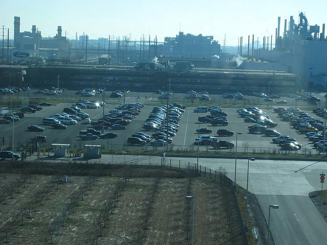 Ford's Rouge River truck plant