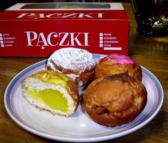 Here S A Paczki Map For The Michigan Diaspora