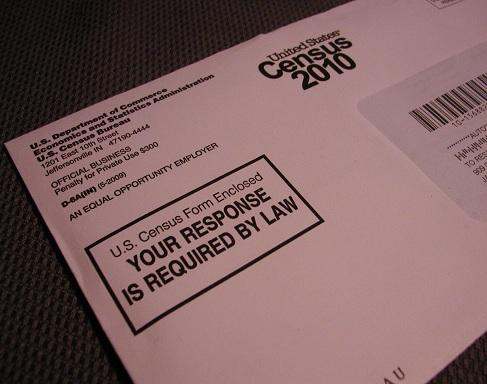 A U.S. Census Bureau form sent to a Michigan address last year
