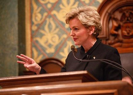 Former Governor Jennifer Granholm