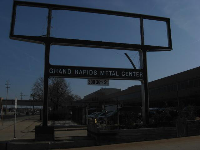 Former GM Stamping Plant in Wyoming, MI.