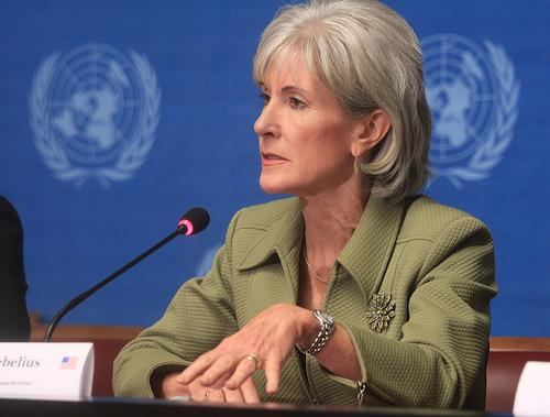 Kathleen Sebelius, U.S. Health and Human Services Secretary