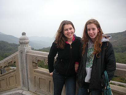 Rhiannon Tomtishen (left) and Madison Vorva (right) are working to save rainforests in Asia.