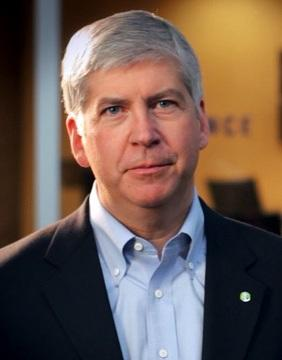 Governor Rick Snyder, (R) Michigan
