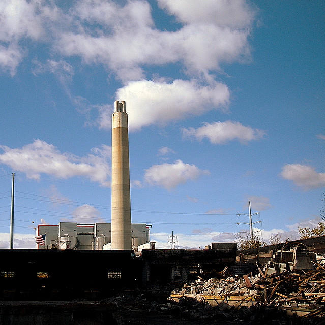 The Detroit incinerator