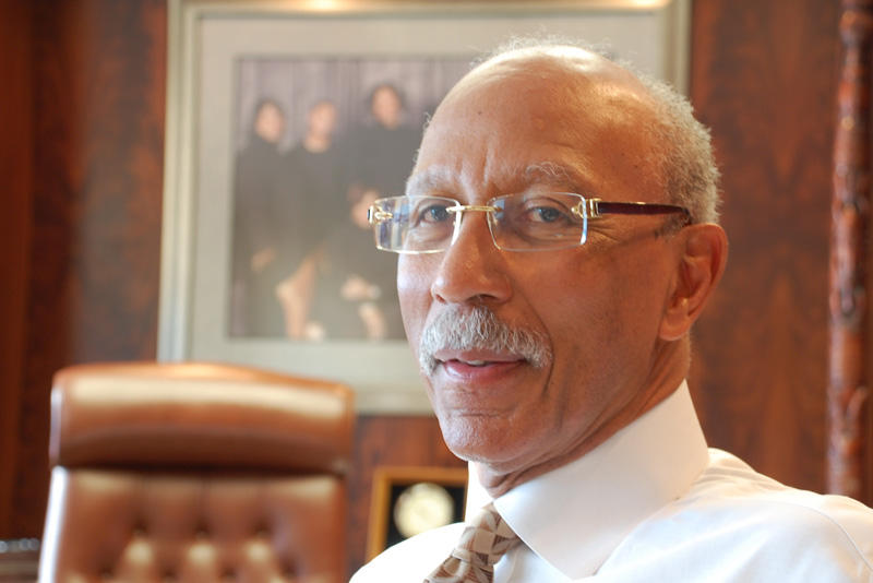 Detroit Mayor Dave Bing.