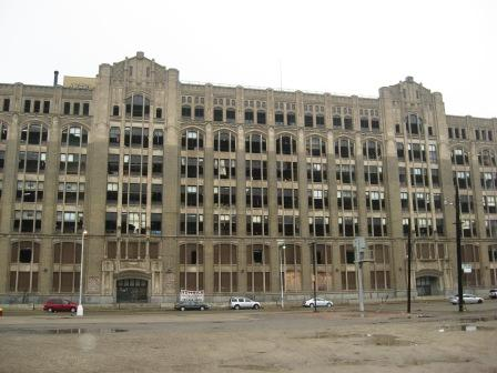 The front of Cass Tech today.