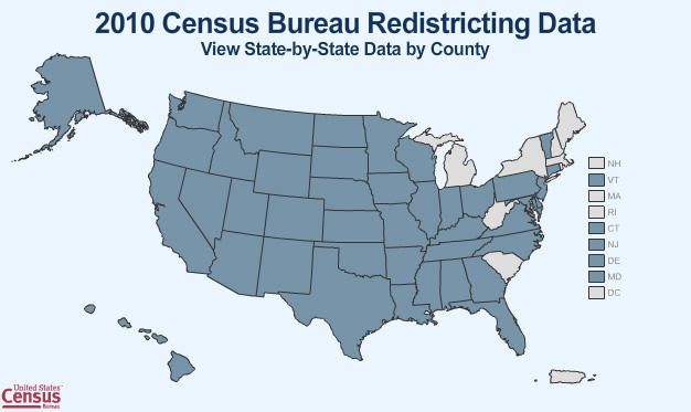 The U.S. Census Bureau has to deliver detailed data to all states by April 1st.